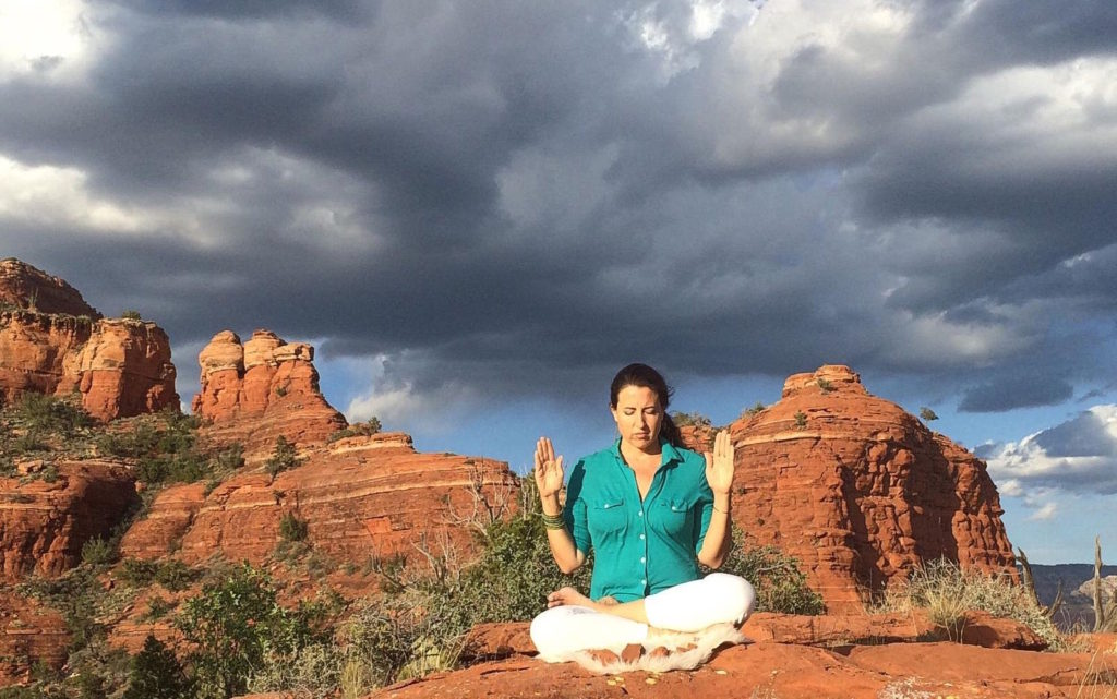 Reiki healing session from Sedona