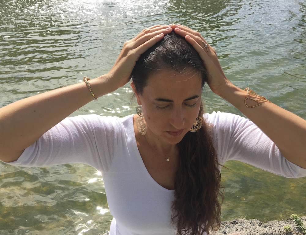 a Reiki self-treatment