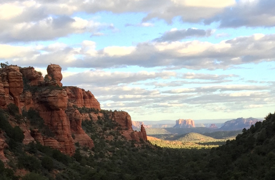 Sedona Reiki retreat beauty
