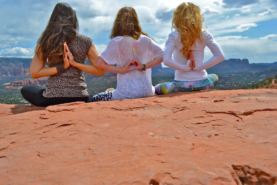 Sedona Reiki Retreat farewell