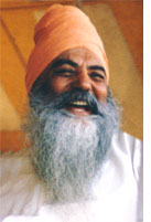 Yogi Bhajan laughing