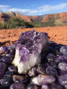 amethyst for Reiki classes