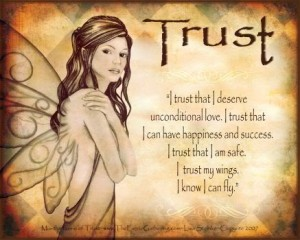 Reiki principle of trust