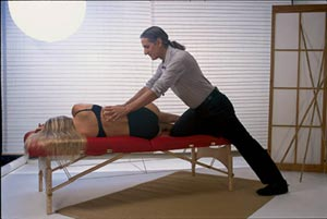 good Reiki session body mechanics