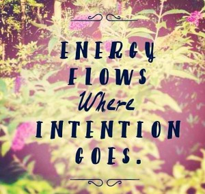 intention and reiki