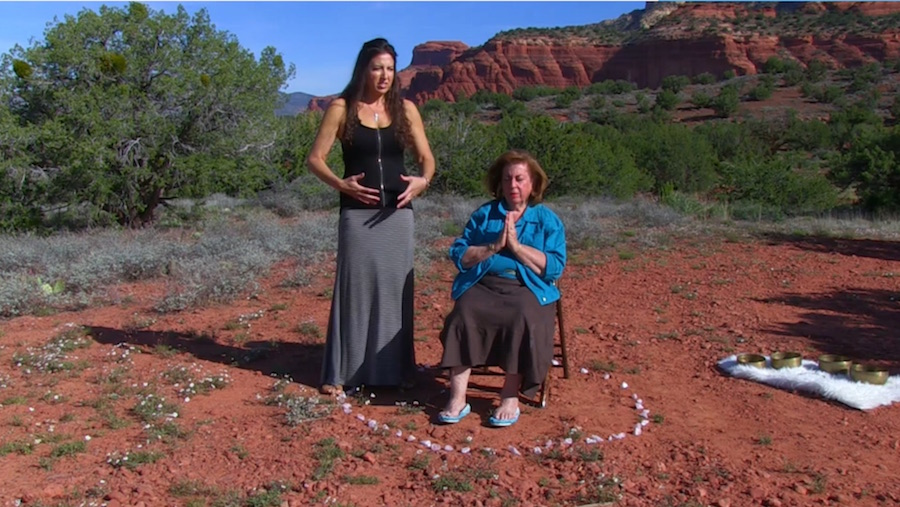 Reiki attunement in Sedona