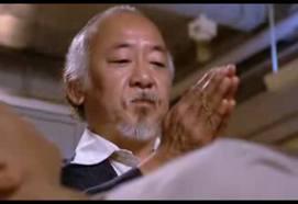 reiki with Mr. Miyagi