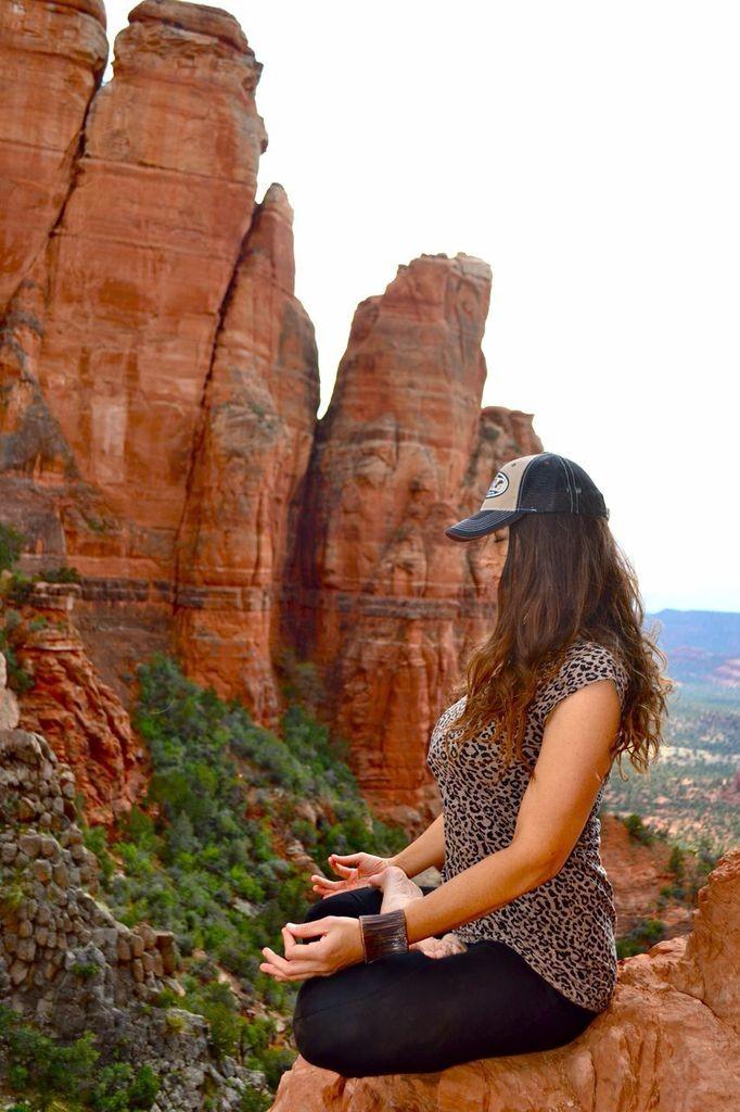 meditating on the five Reiki principles