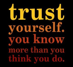 trust your intuition in Reiki