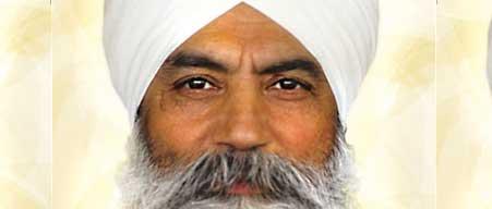 Yogi Bhajan's eyes